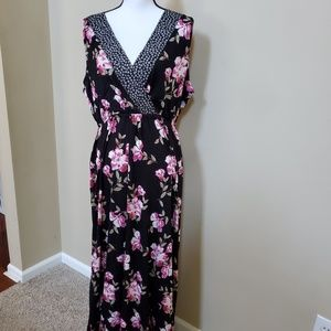 American Rag CIE Floral Dress 1X NWT